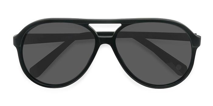 Dark Green Jakarta -  Acetate Sunglasses