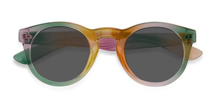 Yellow  Sunset -  Plastic Sunglasses