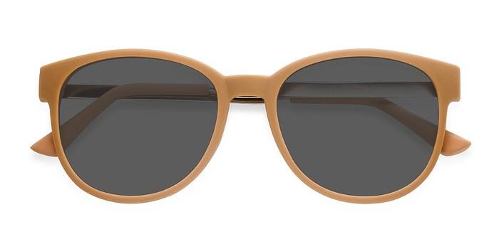 Matte Orange Terracotta -  Metal Sunglasses