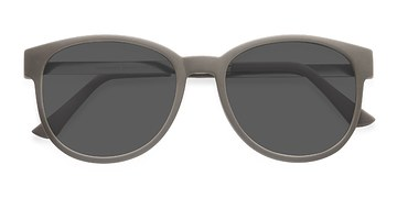 Dark Green Terracotta -  Plastic Sunglasses