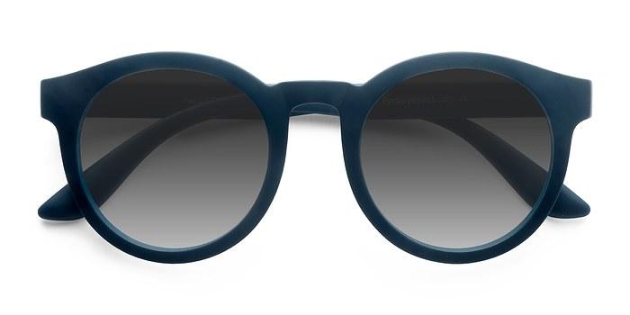 Matte Blue Oasis -  Plastic Sunglasses
