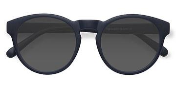 Matte Navy Taylor -  Plastic Sunglasses