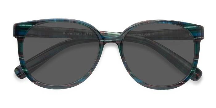 Green Blue Dundee -  Plastic Sunglasses