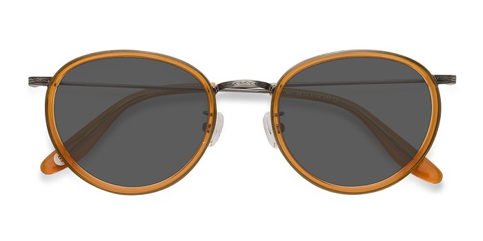 Brown Sun Tea -  Acetate Sunglasses