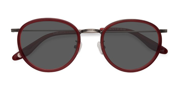 Red Sun Tea -  Vintage Acetate Sunglasses