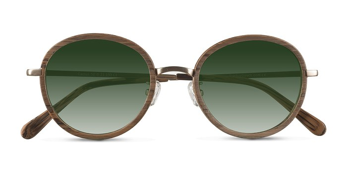 Brown Cactus -  Acetate Sunglasses