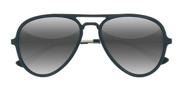 Matte Blue  Riot -  Acetate Sunglasses