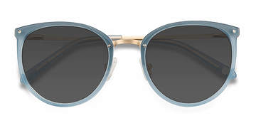 Frosted Blue Crush -  Acetate Sunglasses