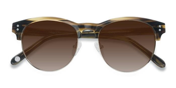Brown College -  Acetate Sunglasses