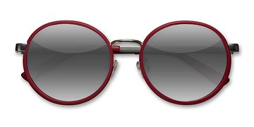 Matte Red Lady Bird -  Acetate Sunglasses