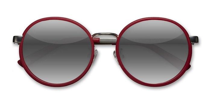 Matte Red Lady Bird -  Acetate Sunglasses