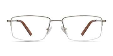 Minneapolis Silver Men Metal Eyeglasses EyeBuyDirect