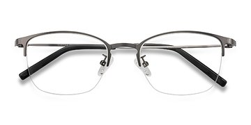 Gunmetal Scaffold -  Metal Eyeglasses