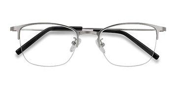 Silver Scaffold -  Metal Eyeglasses