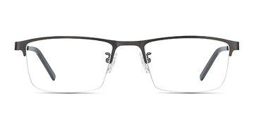 Gunmetal Algorithm -  Metal Eyeglasses