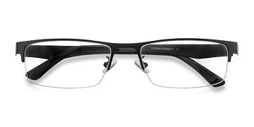 Black Beau -  Metal Eyeglasses