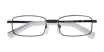 Black Chistopol -  Metal Eyeglasses