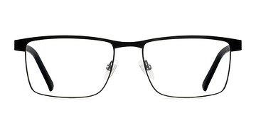 Black Time Square -  Classic Metal Eyeglasses