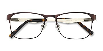 Brown Bethnal Green -  Metal Eyeglasses