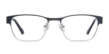 Black Silver Admire -  Fashion Metal Eyeglasses