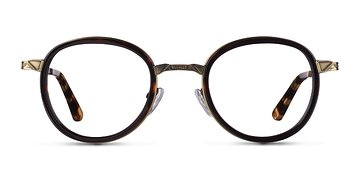 Tortoise Bourgeois M -  Fashion Metal Eyeglasses