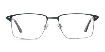 Black Gunmetal Absolute -  Metal Eyeglasses
