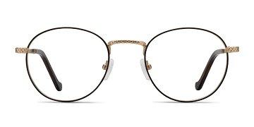 Brown Golden Mingus -  Metal Eyeglasses