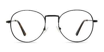 Black Shanghai -  Metal Eyeglasses