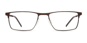 Brown SAK350 -  Metal Eyeglasses