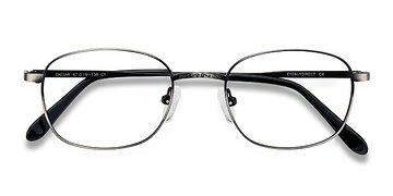 Gunmetal Caesar -  Metal Eyeglasses