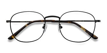 Black Suspense -  Metal Eyeglasses