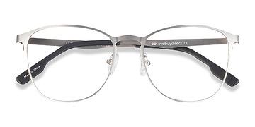 Silver Ember -  Geek Metal Eyeglasses