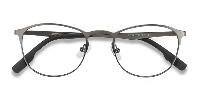 Gunmetal Function -  Metal Eyeglasses