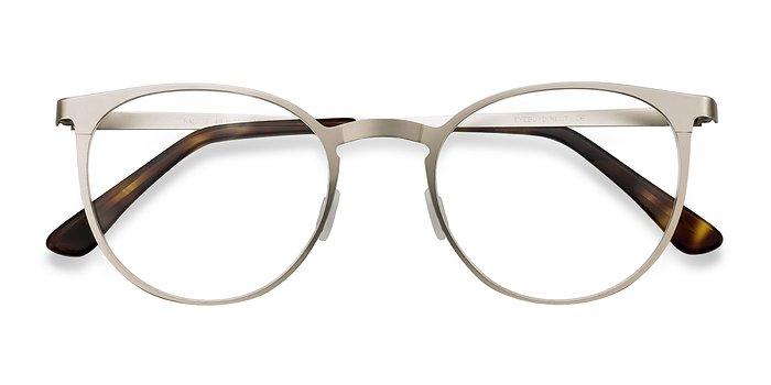 Silver Radius -  Metal Eyeglasses