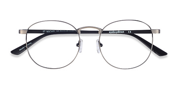 Gunmetal St Michel -  Metal Eyeglasses