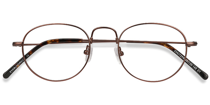 Coffee Chutzpa -  Metal Eyeglasses