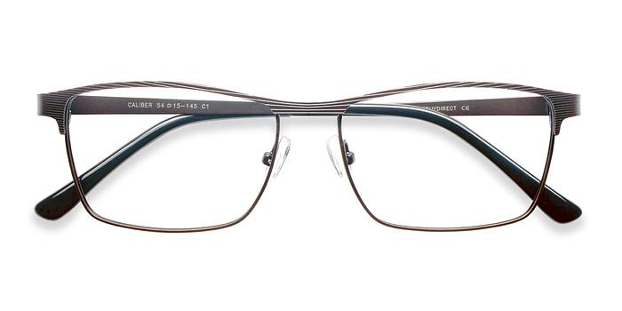 Brown Caliber -  Metal Eyeglasses