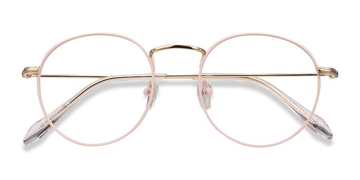 Matte Pink Wistful -  Metal Eyeglasses