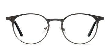 Gunmetal Thin Line -  Fashion Metal Eyeglasses