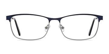 Navy  Ashlyn -  Classic Metal Eyeglasses