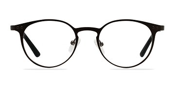 Coffee Little Thin Line -  Fashion Metal Eyeglasses