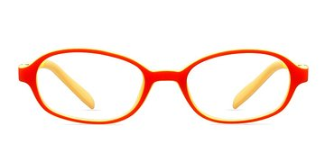 Orange/Yellow Shelli -  Lightweight Plastic Eyeglasses