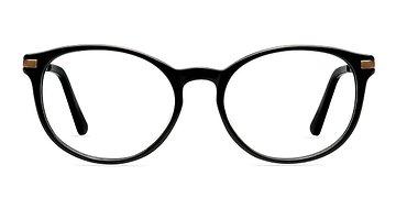 Black New Bedford -  Classic Acetate Eyeglasses