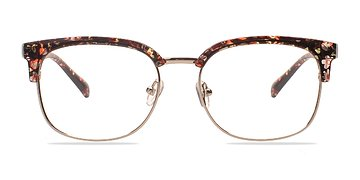 Silver/Floral Charleston -  Fashion Plastic Eyeglasses