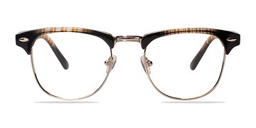 Brown/Silver Coexist -  Fashion Plastic Eyeglasses