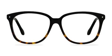 Black/Tortoise Escapee -  Fashion Acetate Eyeglasses