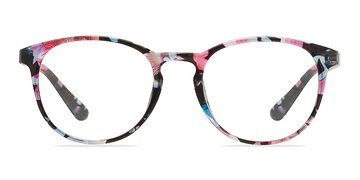 Pink/Floral Muse -  Fashion Plastic Eyeglasses