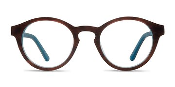 Brown Blue  Dreamy -  Eyeglasses