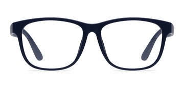 Matte Navy Milo -  Fashion Plastic Eyeglasses