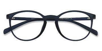 Matte Navy Dinah -  Classic Plastic Eyeglasses